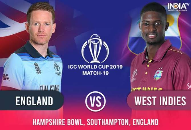 England vs West Indies Live Score