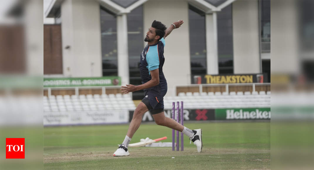 Indian bowlers sweat it out in nets ahead of England Test series   Cricket News